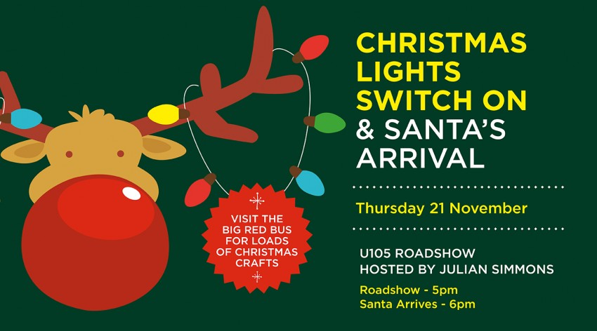 Christmas Lights Switch On & Santa's Arrival