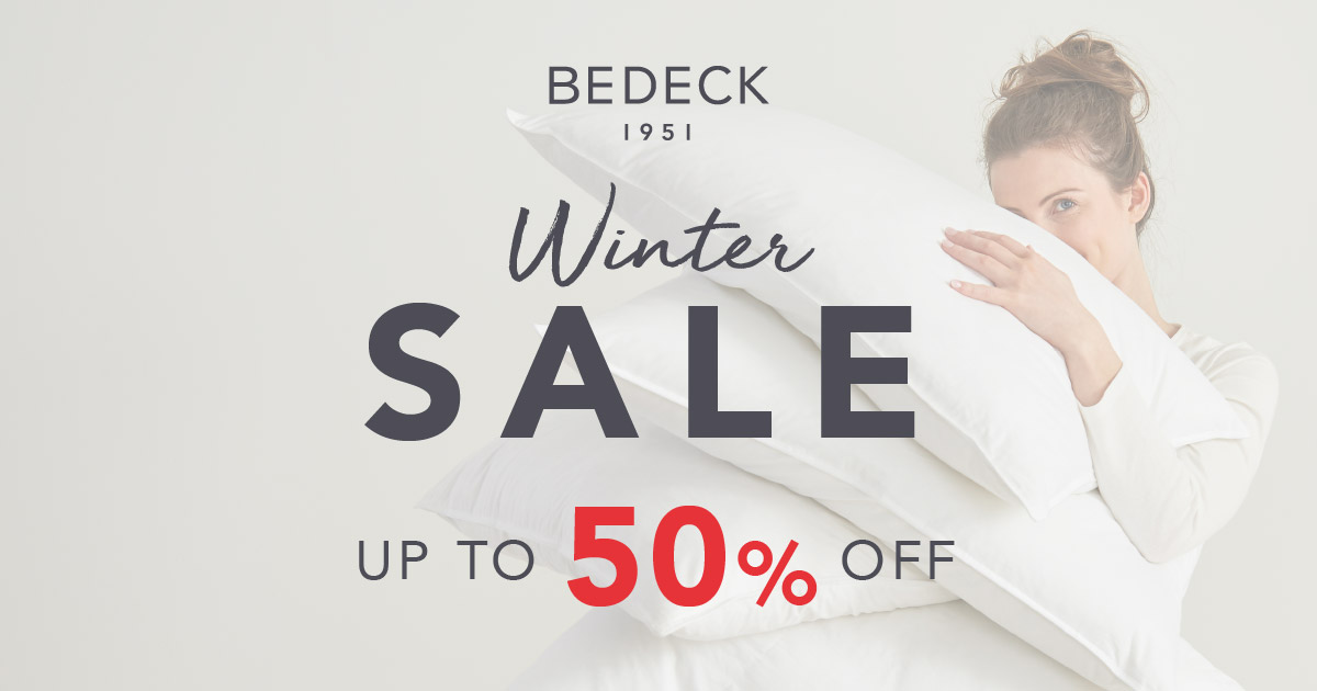 Bedeck Sale Starts Friday 13 December