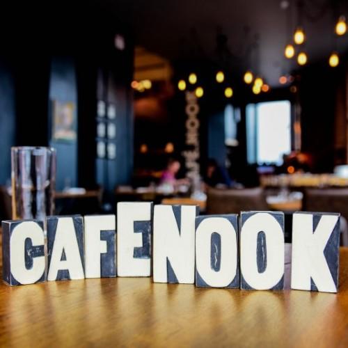 R NOOK - Café & Pizzeria - Cafe_nook_sign_f826914b29232ec0e03cac2d3b86890c