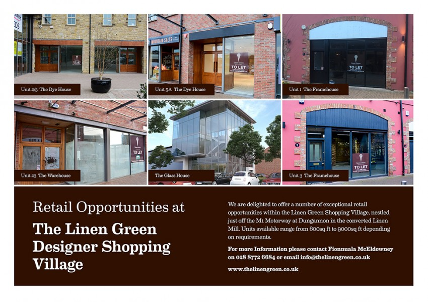 Units to Let at Linen Green