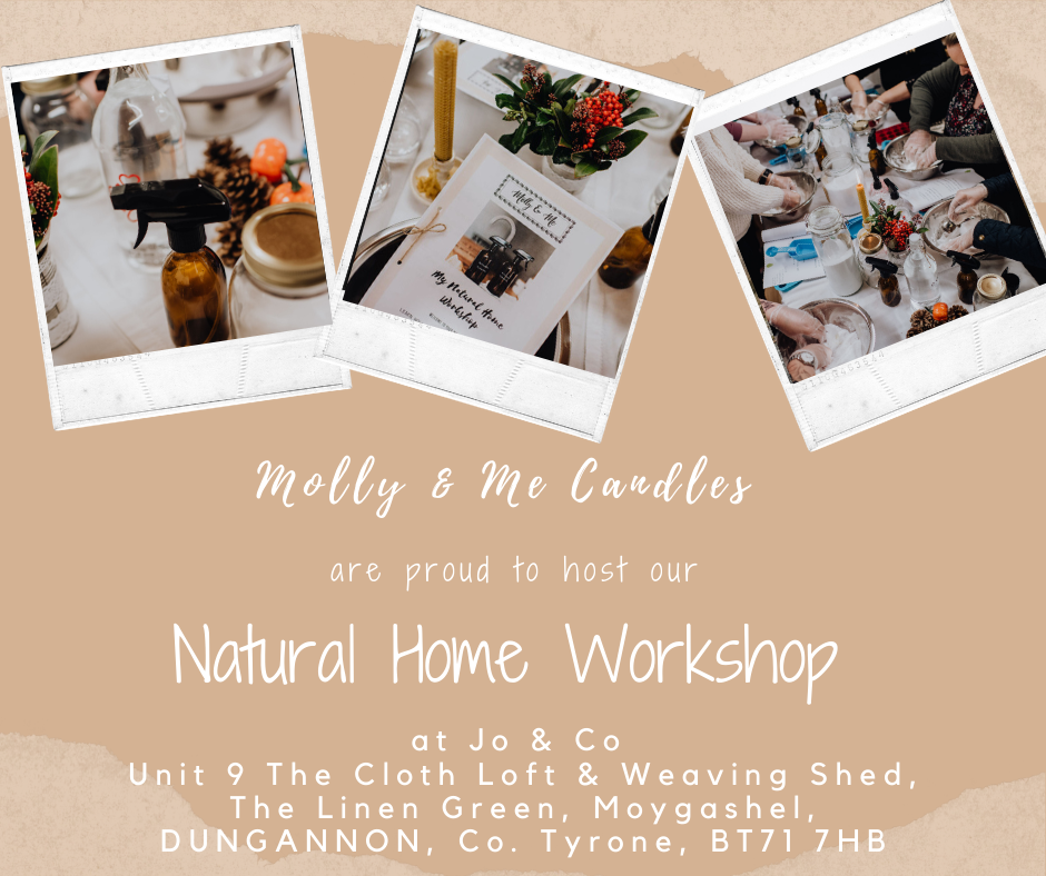 Natural Home Workshop Saturday 29 February