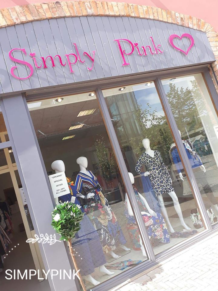 20% OFF at Simply Pink